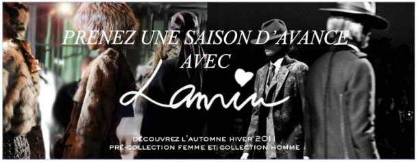 Lookbook Lanvin Pre collection Automne Hiver 15 610x237 Lookbook Lanvin Pre collection Automne Hiver 2011 